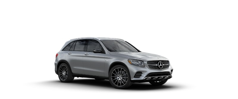 2018 Mercedes-AMG GLC 43 in Iridium Silver Metallic