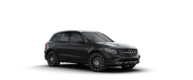 2018 Mercedes-AMG GLC 43 in Obsidian Black Metallic