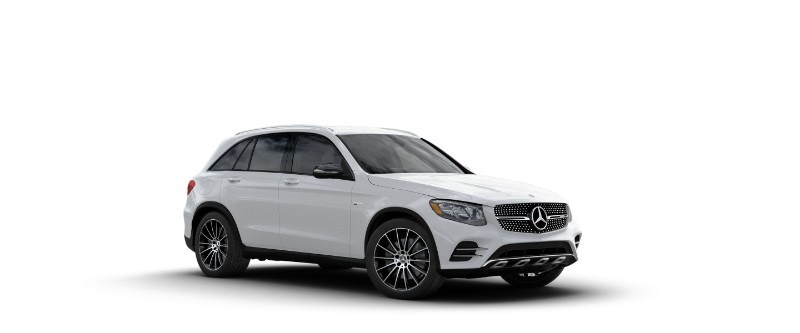 2018 Mercedes-AMG GLC 43 in Polar White