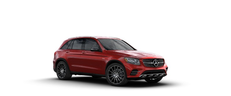 2018 Mercedes-AMG GLC 43 in designo Cardinal Red Metallic