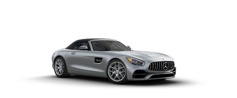 2018 Mercedes-AMG GT in Iridium Silver Metallic