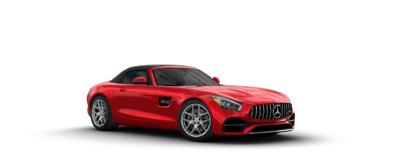 2018 Mercedes-AMG GT in Jupiter Red