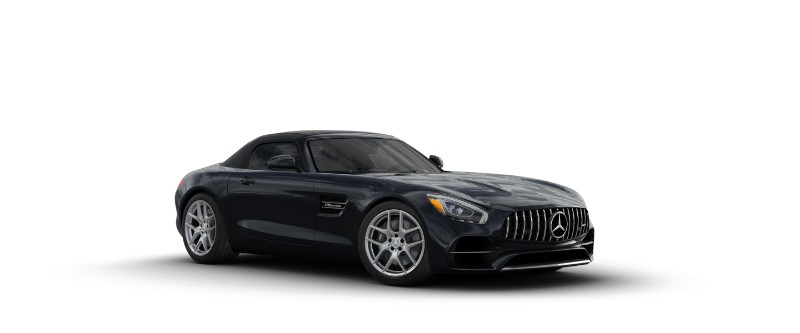 2018 Mercedes-AMG GT in Magnetite Black Metallic