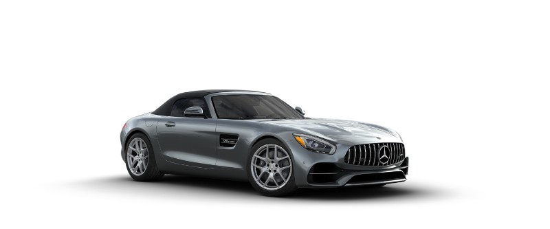2018 Mercedes-AMG GT in Selenite Grey Metallic