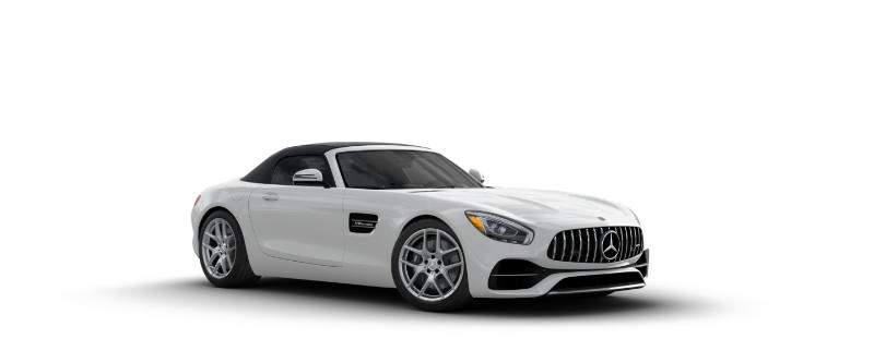 2018 Mercedes-AMG GT in designo Diamond White Metallic