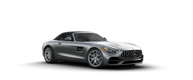 2018 Mercedes-AMG GT in designo Selenite Grey Magno