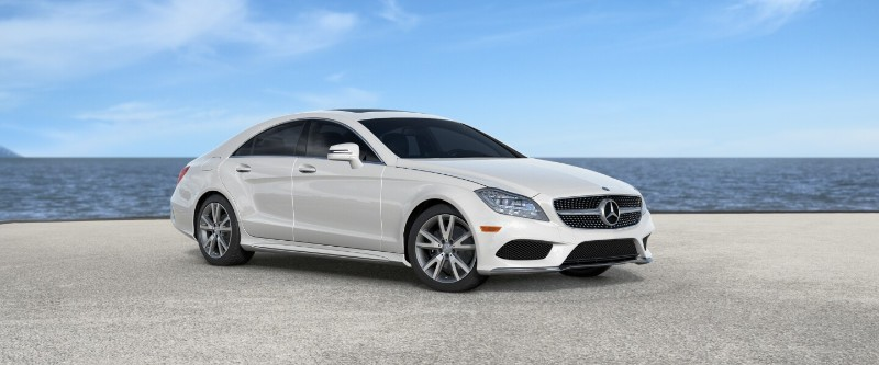 New 2018 mercedes benz cls exterior color options for Mercedes benz design your own