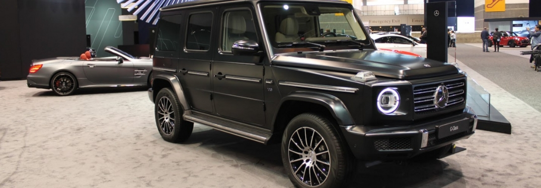 full view of the 2019 G-Class