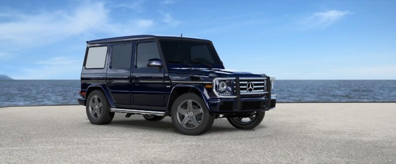 2018 Mercedes-Benz G-Class Capri Blue Metallic