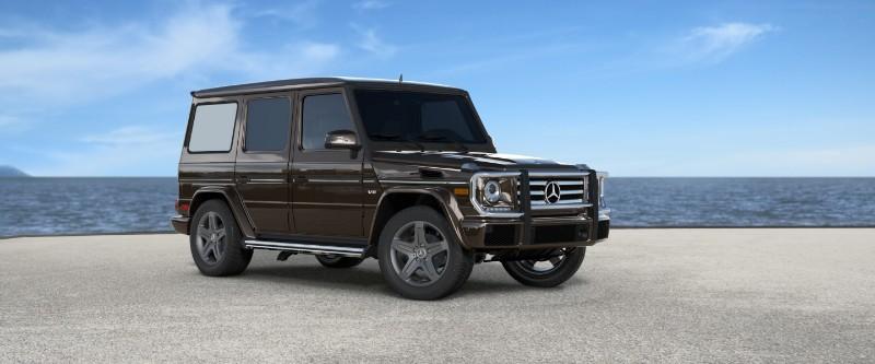 2018 Mercedes-Benz G-Class Dakota Brown Metallic