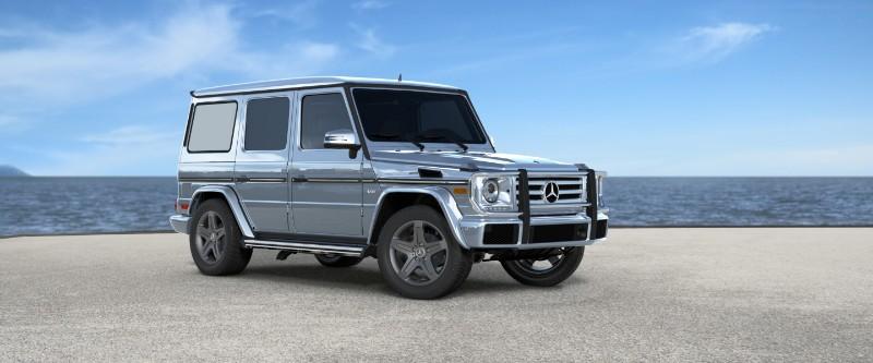 2018 Mercedes-Benz G-Class Diamond Silver Metallic