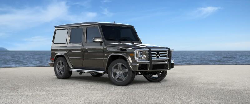 2018 Mercedes-Benz G-Class Indium Grey Metallic