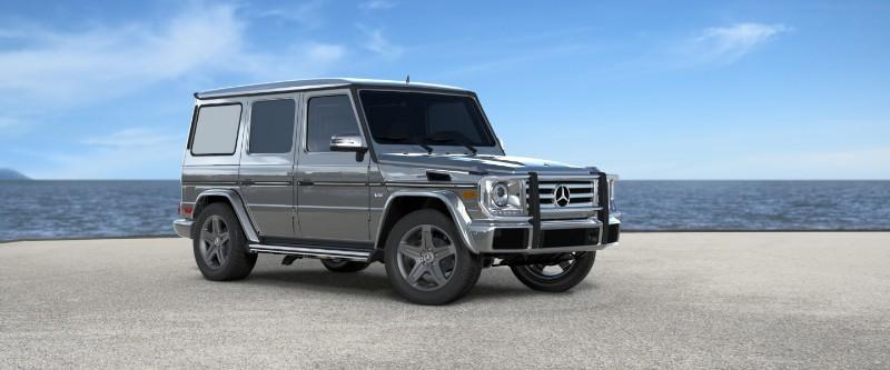 2018 Mercedes-Benz G-Class Palladium Silver Metallic