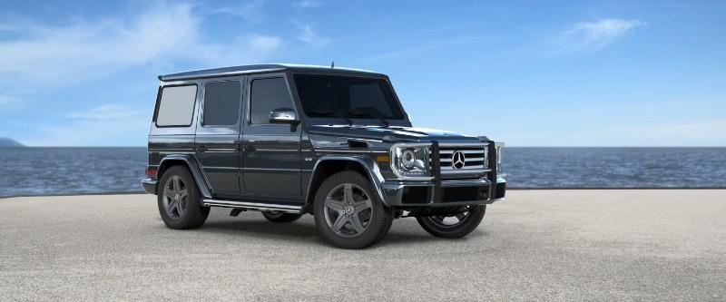 2018 Mercedes-Benz G-Class Steel Grey Metallic