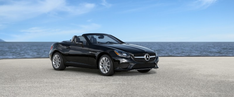 2018 Mercedes-Benz SLC in Black