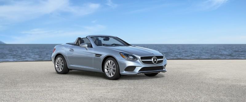2018 Mercedes-Benz SLC in Diamond Silver Metallic