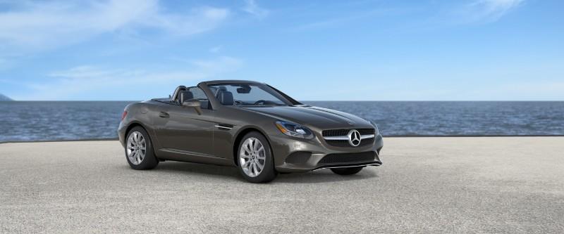 2018 Mercedes-Benz SLC in Indium Grey Metallic