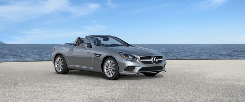2018 Mercedes-Benz SLC in Iridium Silver Metallic