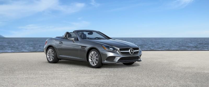 2018 Mercedes-Benz SLC in Selenite Grey Metallic