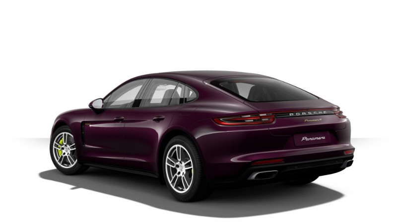 2018 Porsche Panamera E-Hybrid in Amethyst Metallic