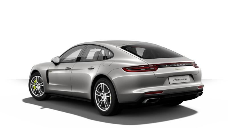 2018 Porsche Panamera E-Hybrid in GT Silver Metallic
