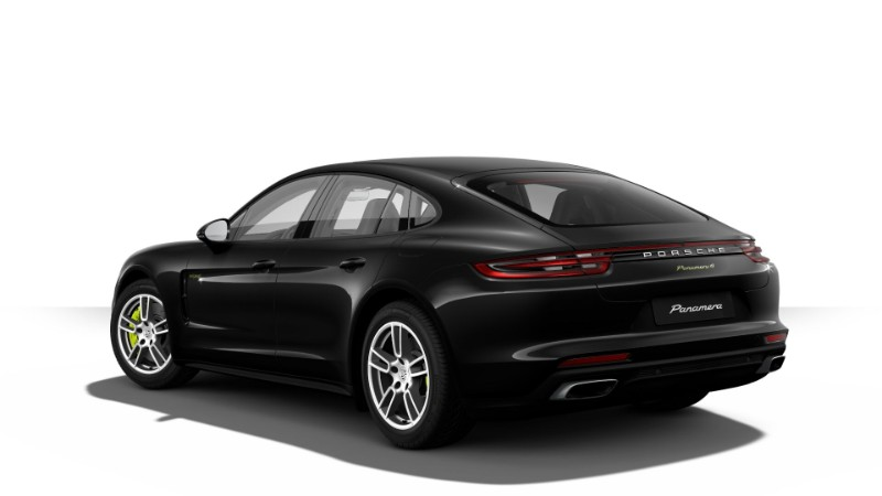 2018 Porsche Panamera E-Hybrid in Jet Black Metallic