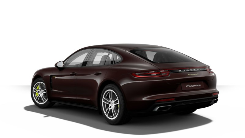 2018 Porsche Panamera E-Hybrid in Mahogany Metallic