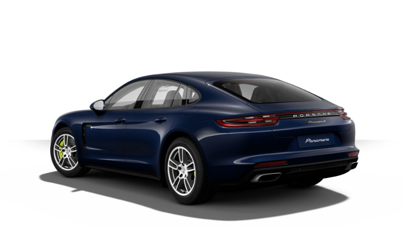 2018 Porsche Panamera E-Hybrid in Night Blue Metallic
