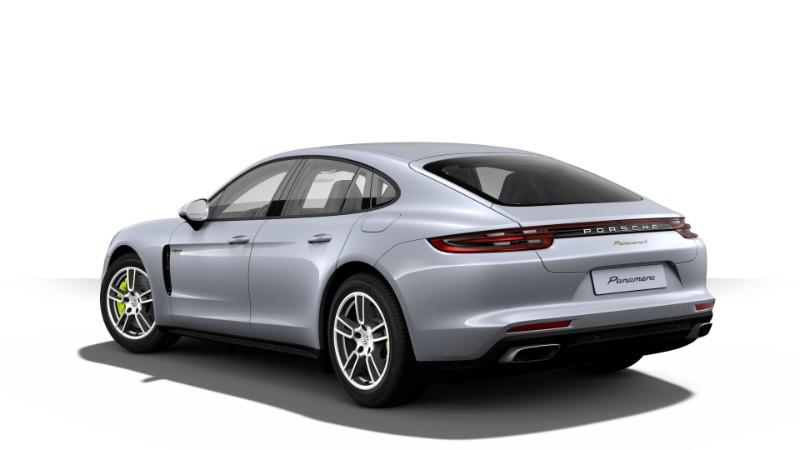 2018 Porsche Panamera E-Hybrid in Rhodium Silver Metallic