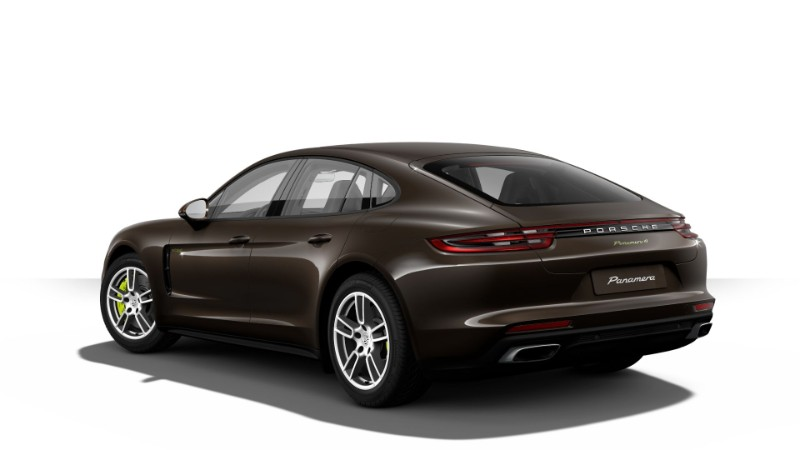 2018 Porsche Panamera E-Hybrid in Ristretto Brown Metallic