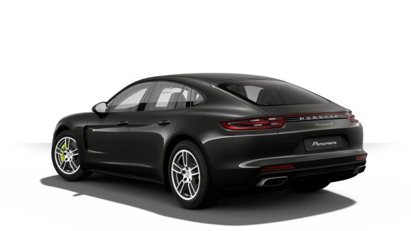 2018 Porsche Panamera E-Hybrid in Sapphire Blue Metallic