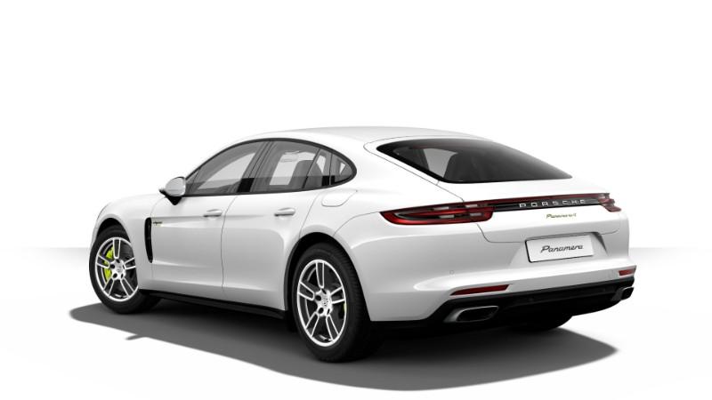 2018 Porsche Panamera E-Hybrid in White