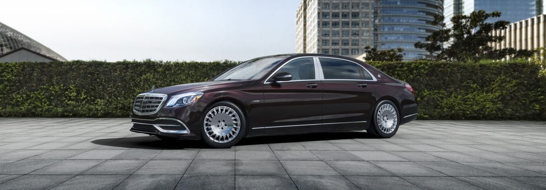 full view of the 2018 Mercedes-Maybach S-Class