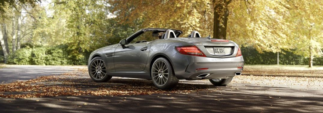 Take a look at the different color options available for the 2018 Mercedes-Benz SLC!