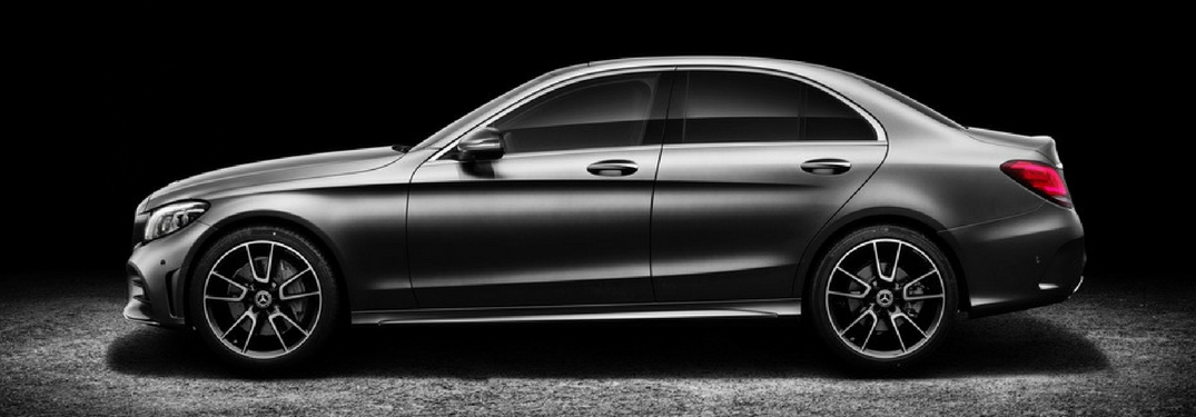 profile view of the 2019 mercedes-benz c-class