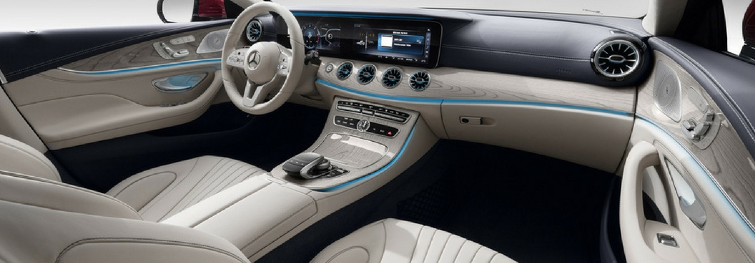 ... Interior Front Of The 2019 Mercedes Benz Cla