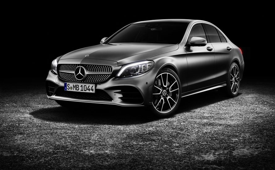 full view of the 2019 Mercedes-Benz C-Class