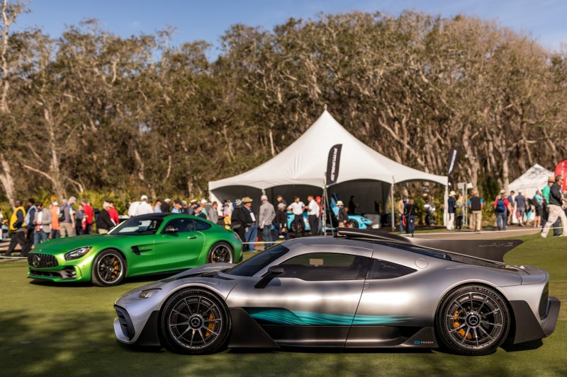 Mercedes-Benz at the 2018 Amelia Island Concours d'Elegance