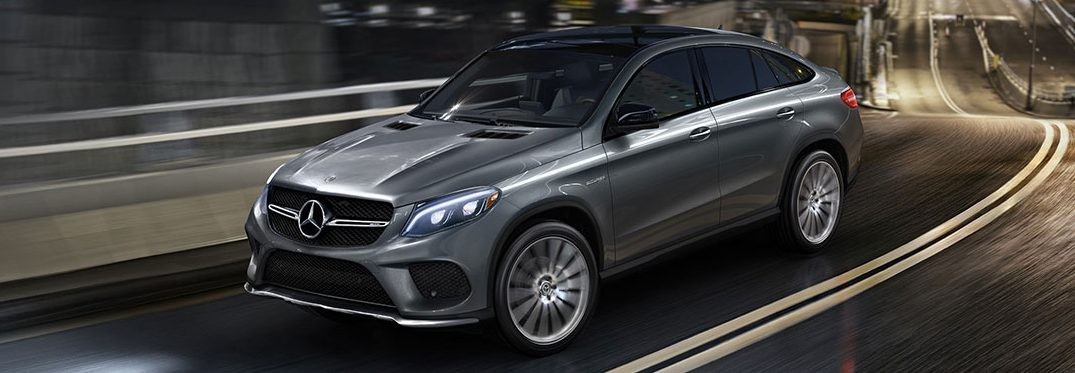 full view of the 2018 Mercedes-Benz AMG GLE Coup