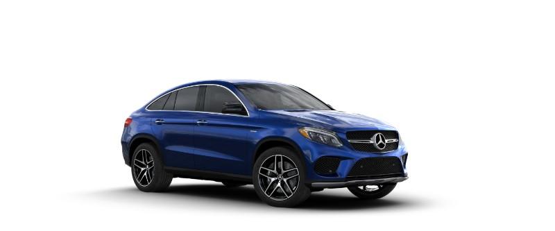 2018 Mercedes Amg Gle Coupe Brilliant Blue Metallic O Loeber Motors
