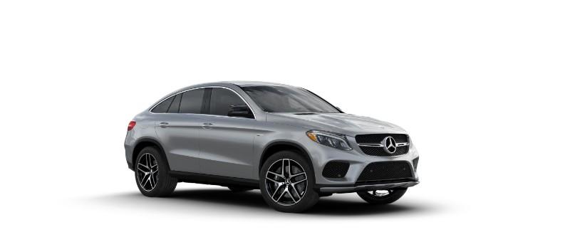 2018 Mercedes-AMG GLE Coupe Iridium Sliver Metallic