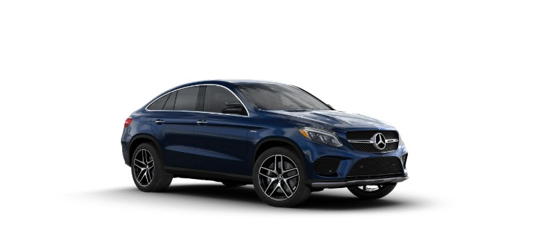 2018 Mercedes-AMG GLE Coupe Lunar Blue Metallic