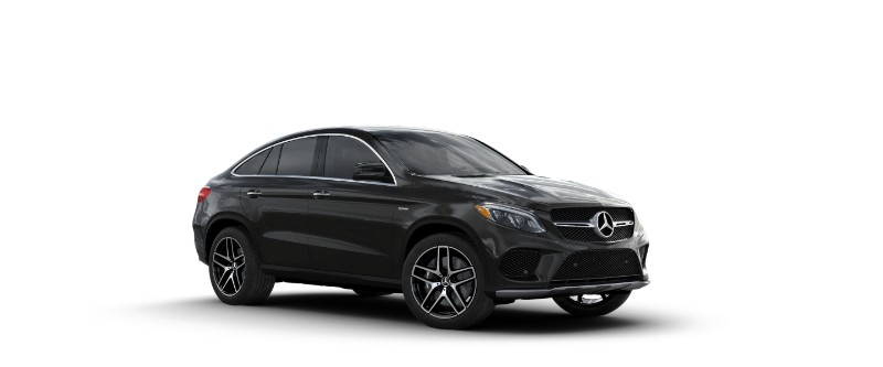2018 Mercedes-AMG GLE Coupe Obsidian Black Metallic