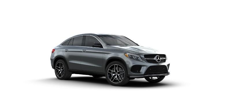 2018 Mercedes-AMG GLE Coupe Selenite Grey Metallic