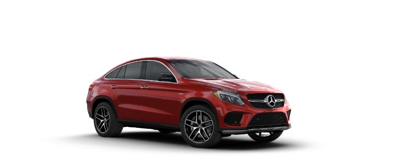 2018 Mercedes-AMG GLE Coupe designo Cardinal Red Metallic