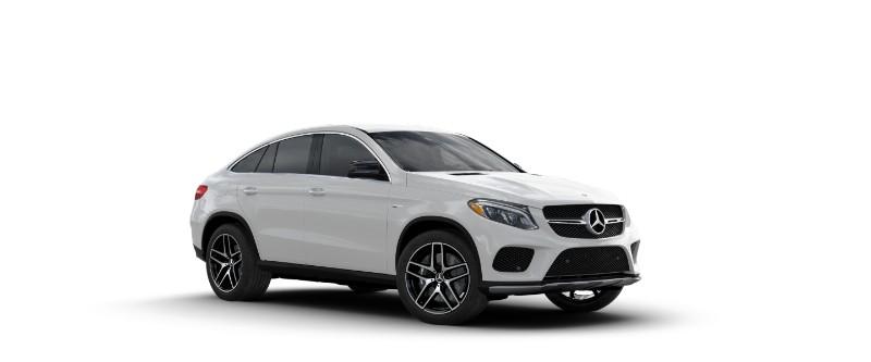 2018 Mercedes-AMG GLE Coupe designo Diamond White Metallic