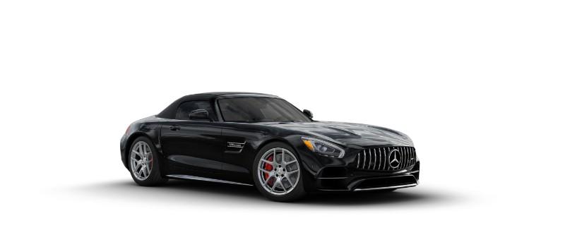 2018 Mercedes-AMG GT C Roadster in Black