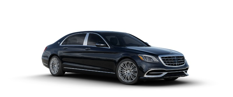 2018 Mercedes-Maybach in Anthracite Blue Metallic