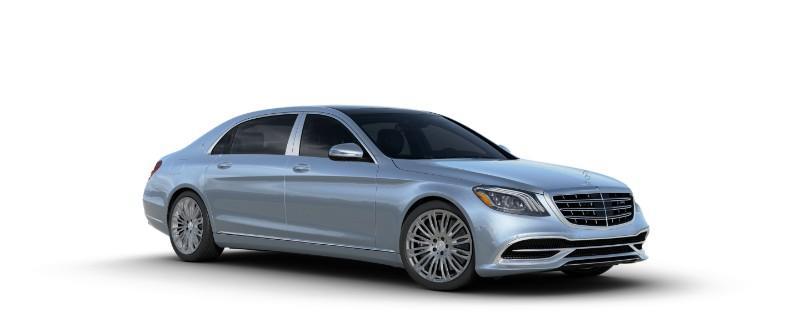 2018 Mercedes-Maybach in Diamond Silver Metallic