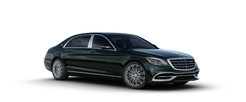 2018 Mercedes-Maybach in Emerald Green Metallic